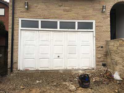 Automatic Insulated Roller Door Installed Sheffield