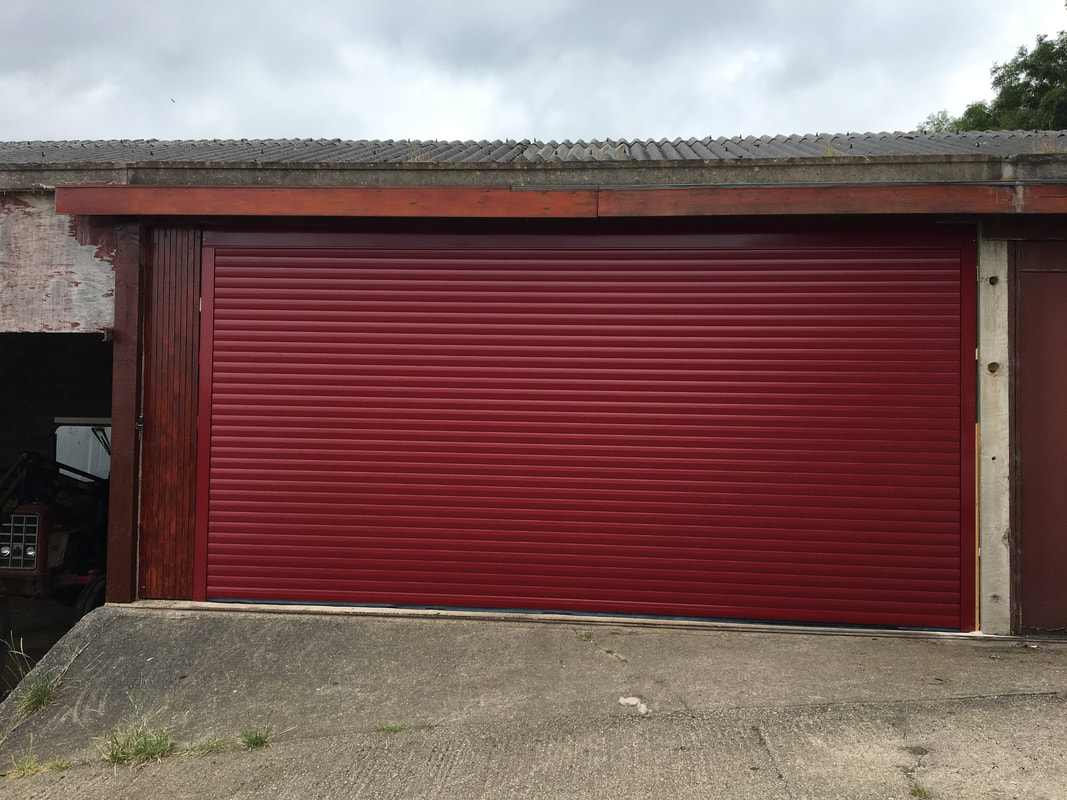 Before Amp After Garage Door Installation Sheffield
