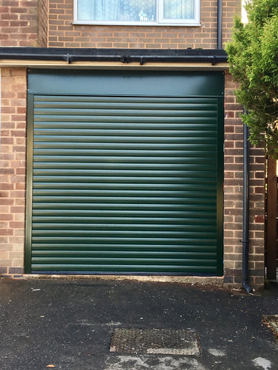 new insulated garage door sheffield