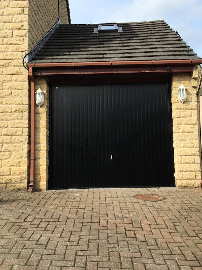 roller garage door in Sheffield